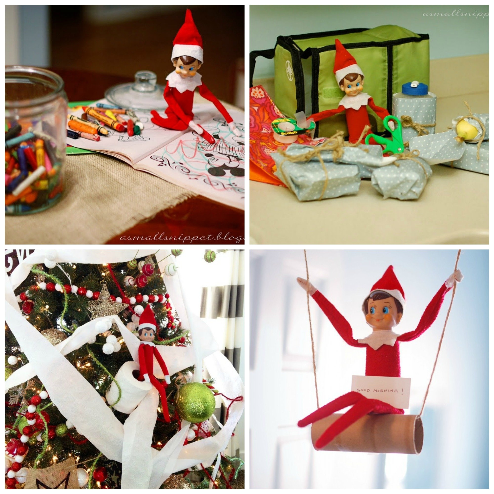 30 elf on a shelf ideas for toddlers – super busy mum