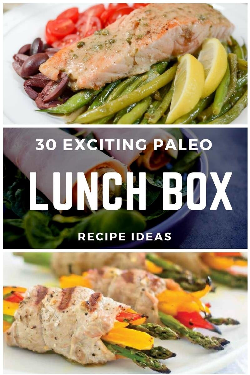 30 exciting paleo lunch box recipe ideas