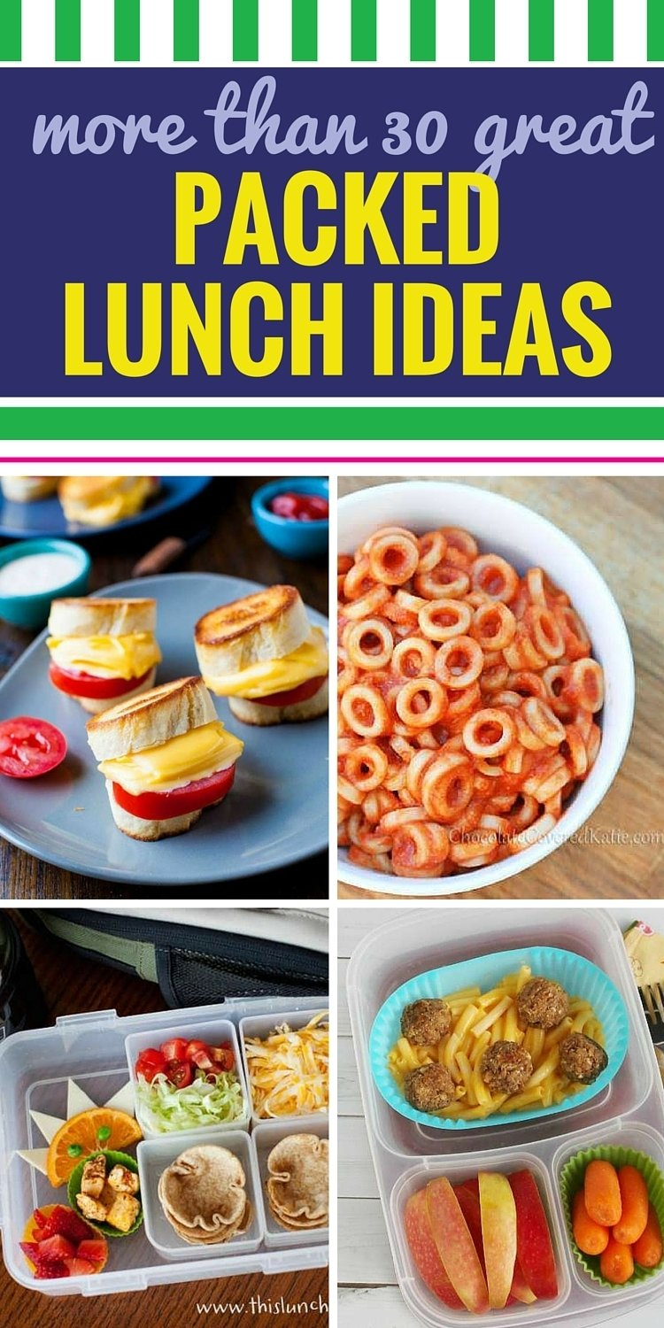 10 Attractive Easy Healthy Lunch Ideas For Kids 30 great packed lunch ideas for kids 1 2020