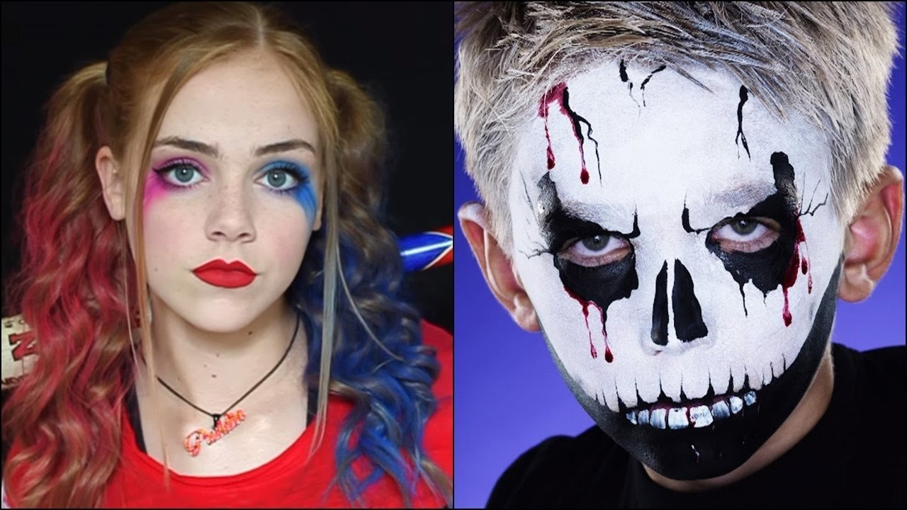 30 halloween makeup ideas for kids & teenagers with tutorials - youtube
