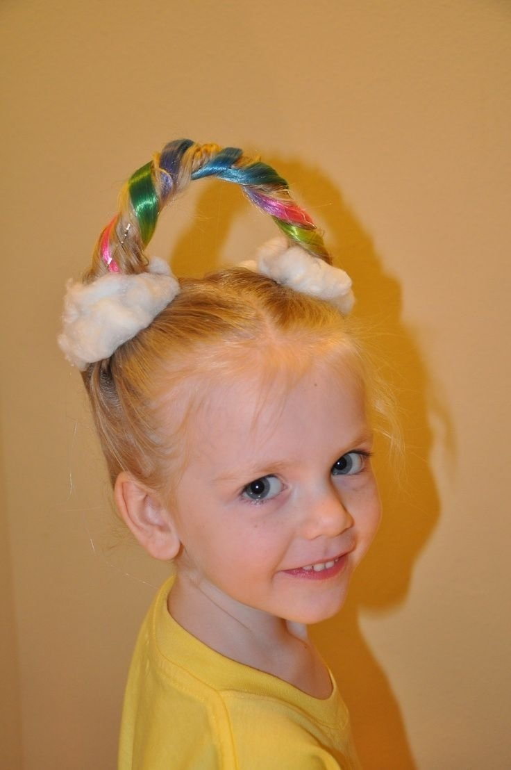 10 Fashionable Crazy Hair Day Ideas For Girls 30 ideas for crazy hair day at school stay at home mum 2 2021
