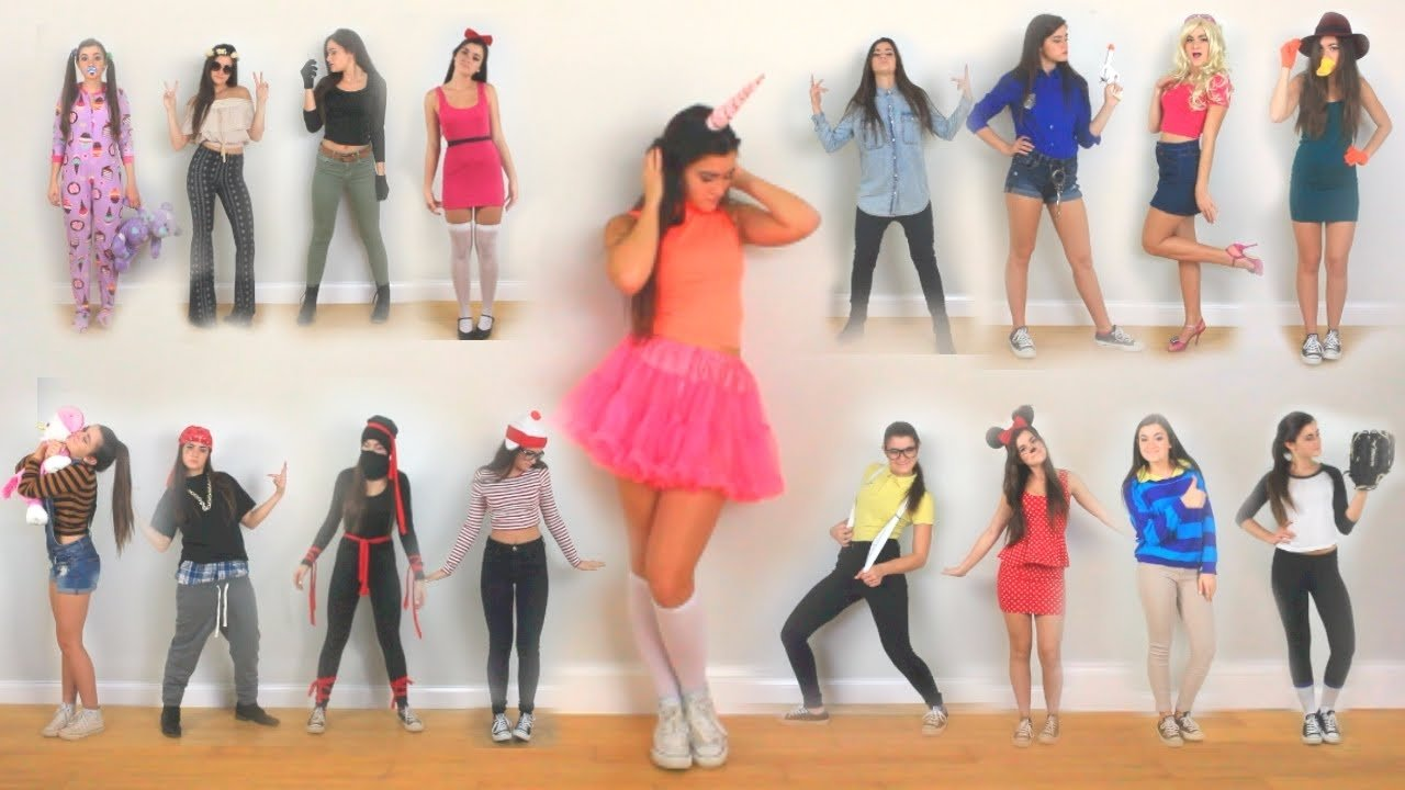 10 Attractive Good Last Minute Halloween Costume Ideas 30 last minute diy halloween costume ideas youtube 4