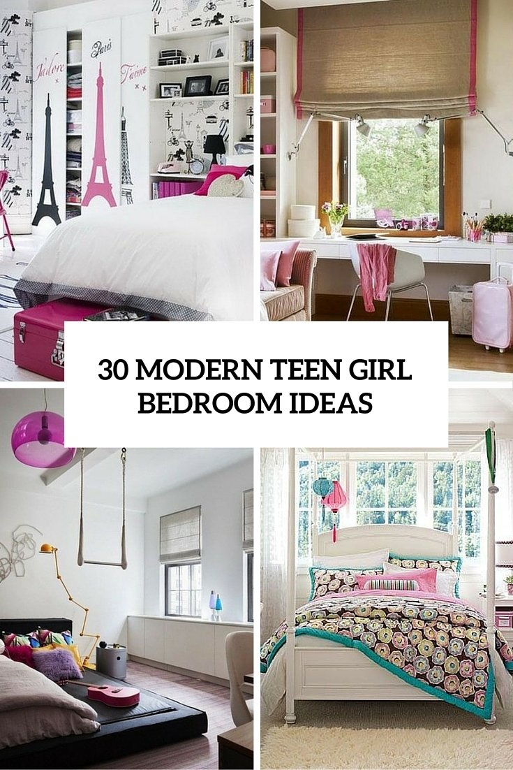 10 Most Recommended Ideas For Teenage Girls Rooms 30 modern teen girl bedrooms that wow digsdigs 2020