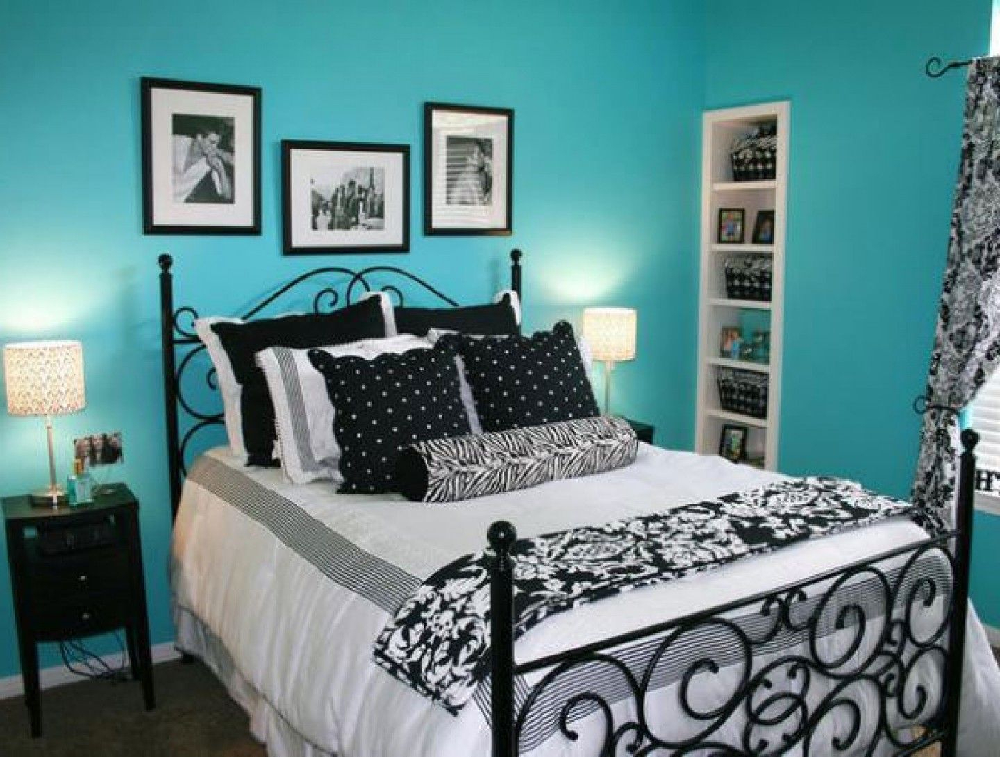 10 Amazing Black And Blue Bedroom Ideas 30 turquoise room ideas for your home bolondon turquoise room 2020