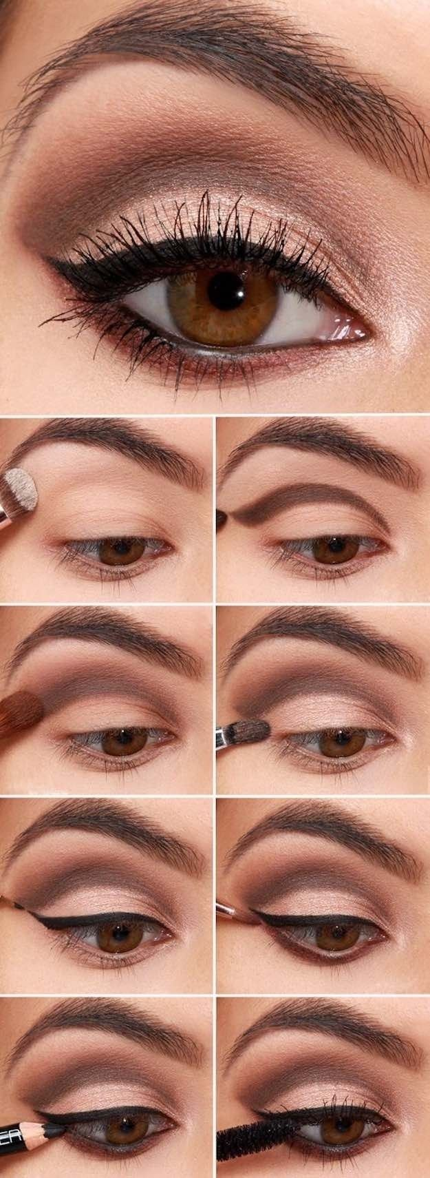 10 Perfect Wedding Makeup Ideas For Brown Eyes 30 wedding makeup ideas for brides maquillage coiffures et beaute