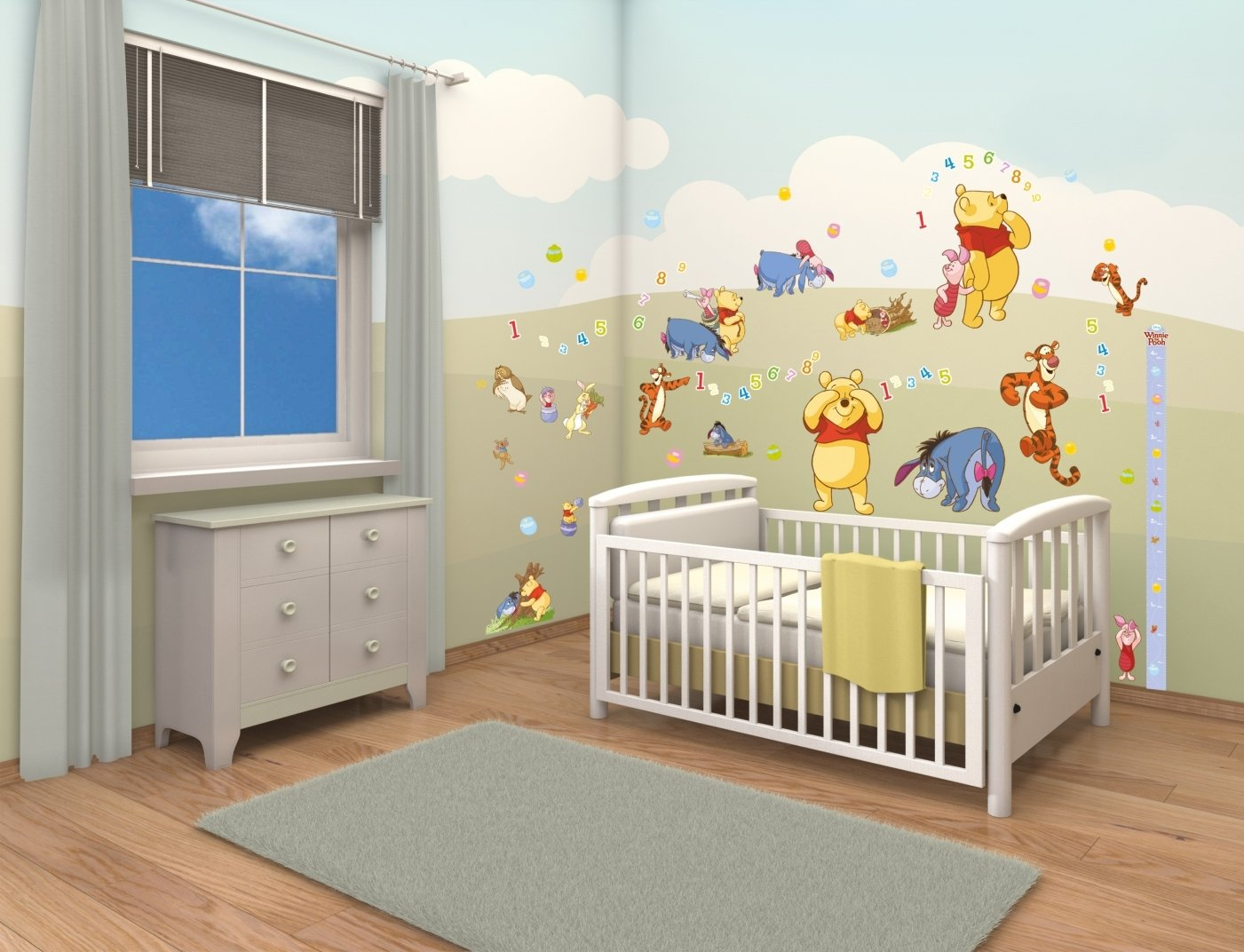 30 winnie the pooh baby room decorations - interior design bedroom