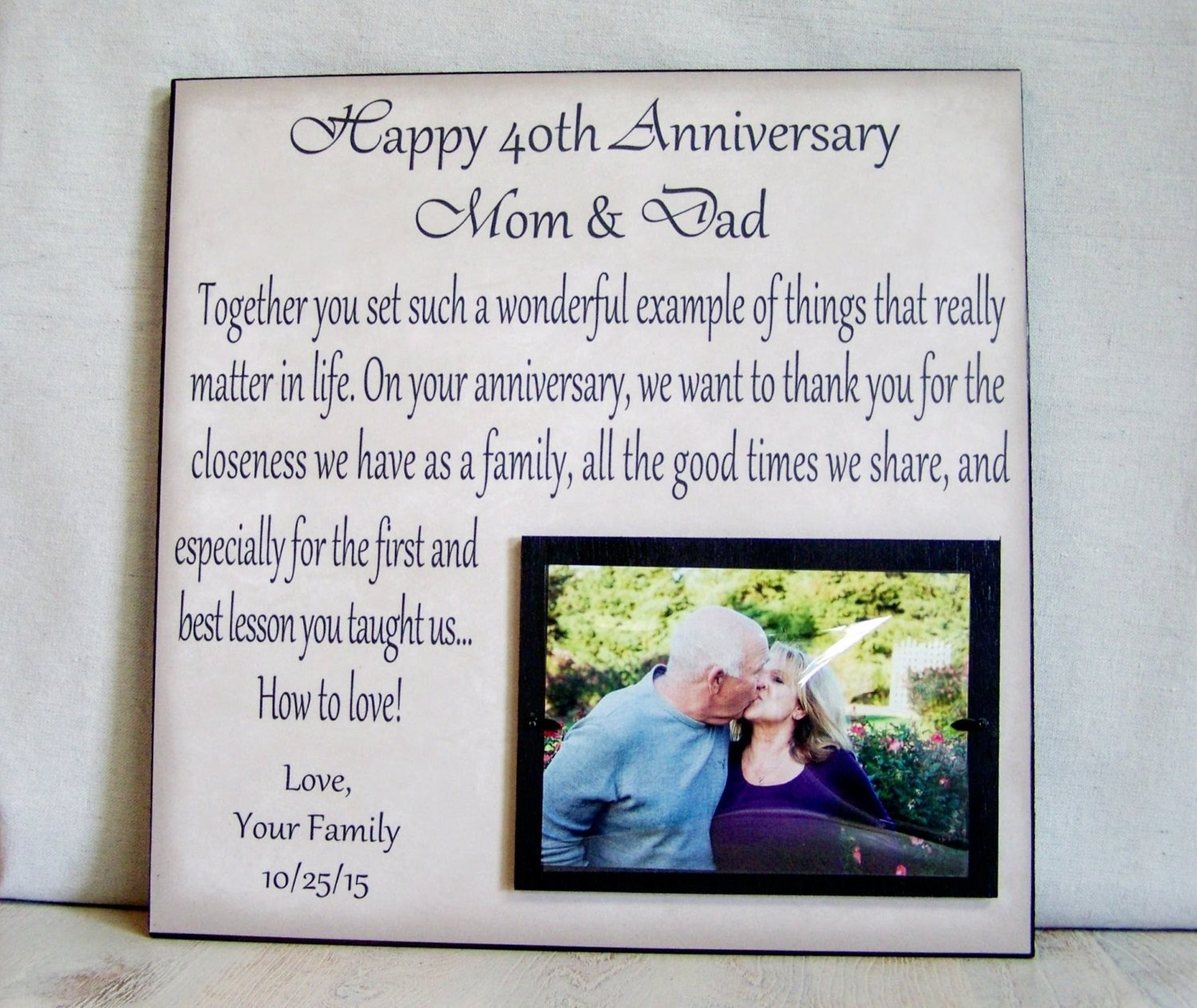 10 Attractive Gift Ideas For Parents Anniversary 30 year anniversary gift gift for parents anniversary kids 30 2021