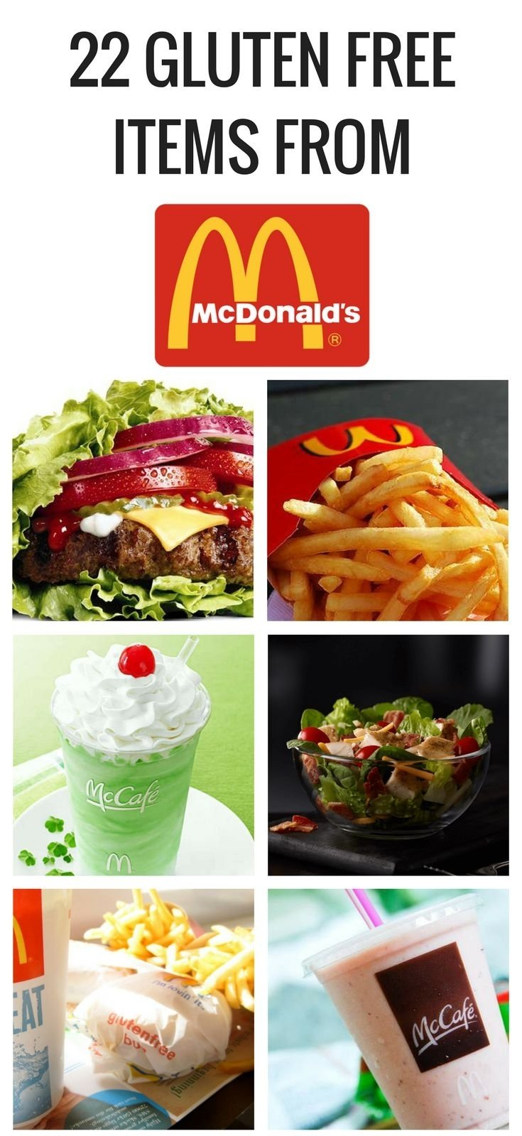 10 Lovable Gluten Free Fast Food Ideas 309 best gluten free restaurant menus images on pinterest gluten 2020