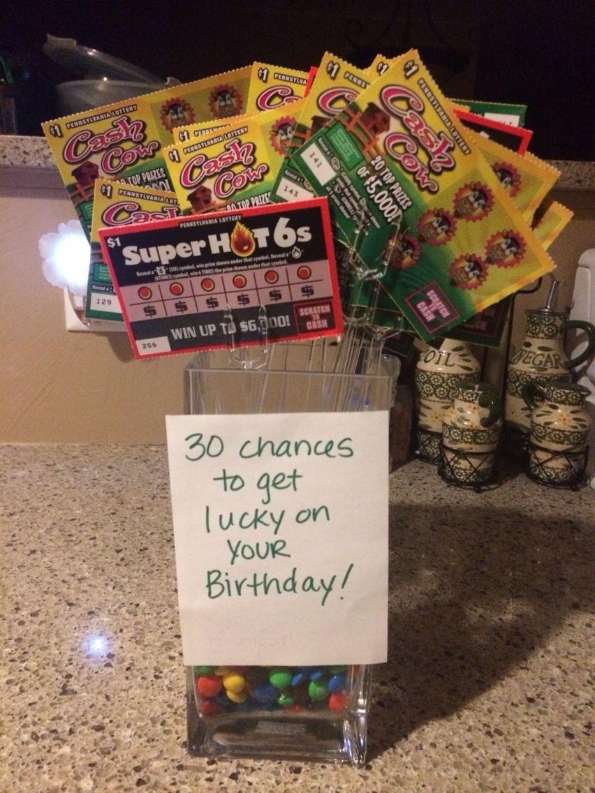 10 Fashionable Creative 30Th Birthday Gift Ideas For Her 30th birthday for the husband gift ideas pinterest 30 birthday 18 2020