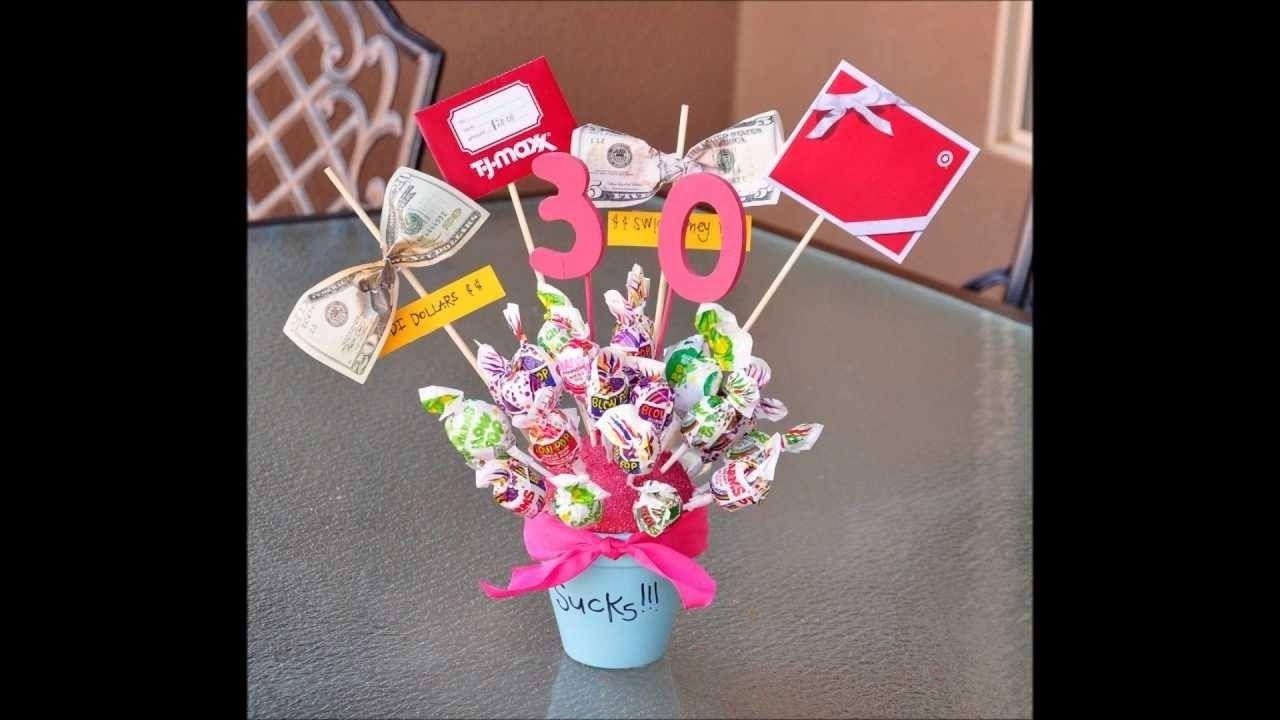 10 Gorgeous Creative Birthday Gift Ideas For Best Friend 30th Present