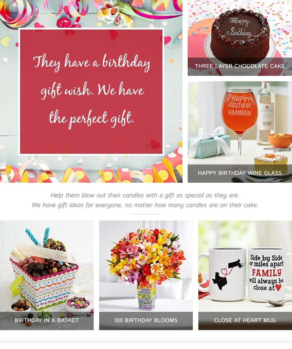30th birthday gifts for women - gifts