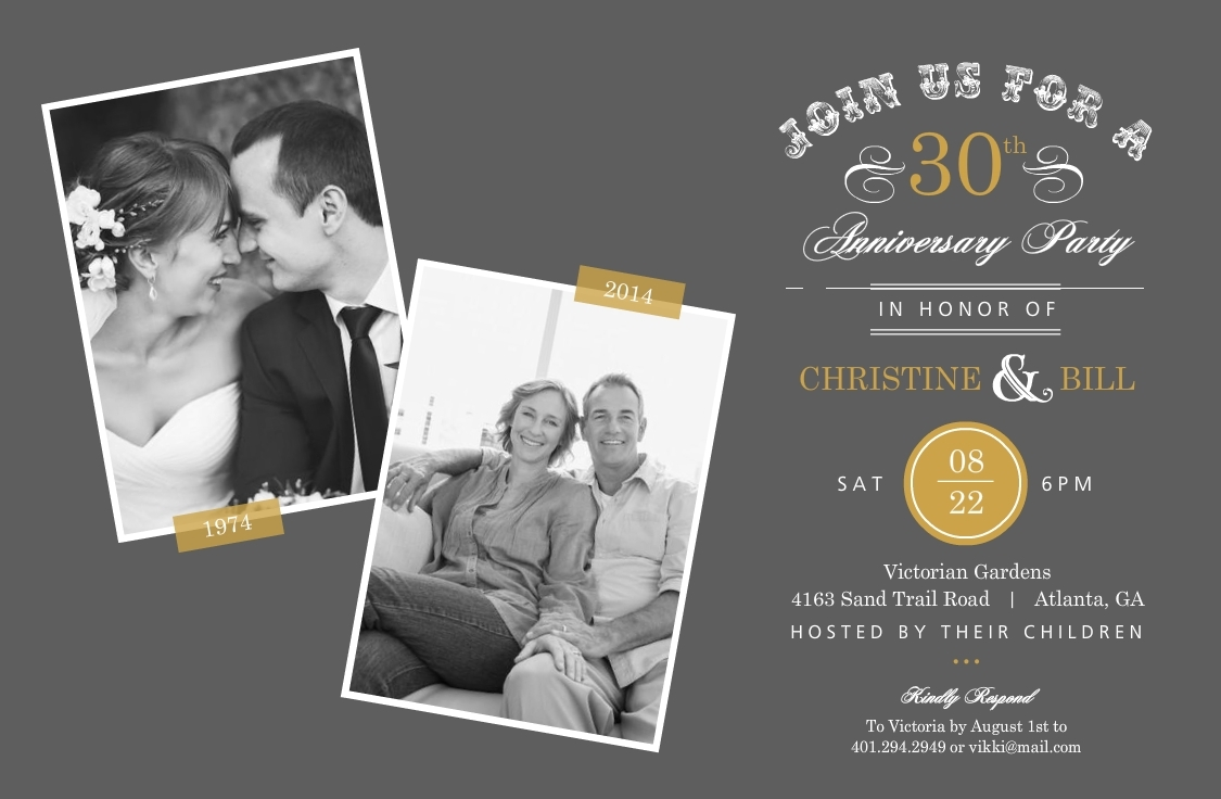 10 Spectacular 30Th Anniversary Ideas For Parents 30th wedding anniversary ideas 30 ways to celebrate your anniversary 2 2021