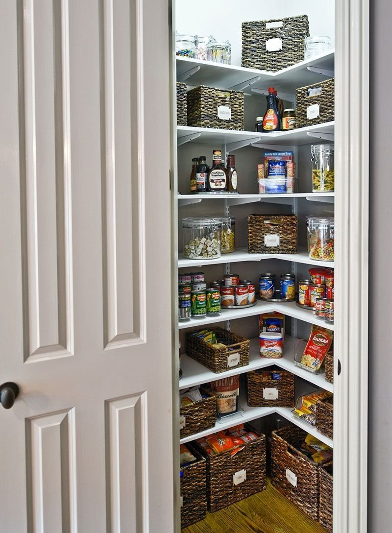 10 Wonderful Pantry Ideas For Small Kitchen 31 amazing storage ideas for small kitchens storage ideas pantry 2020
