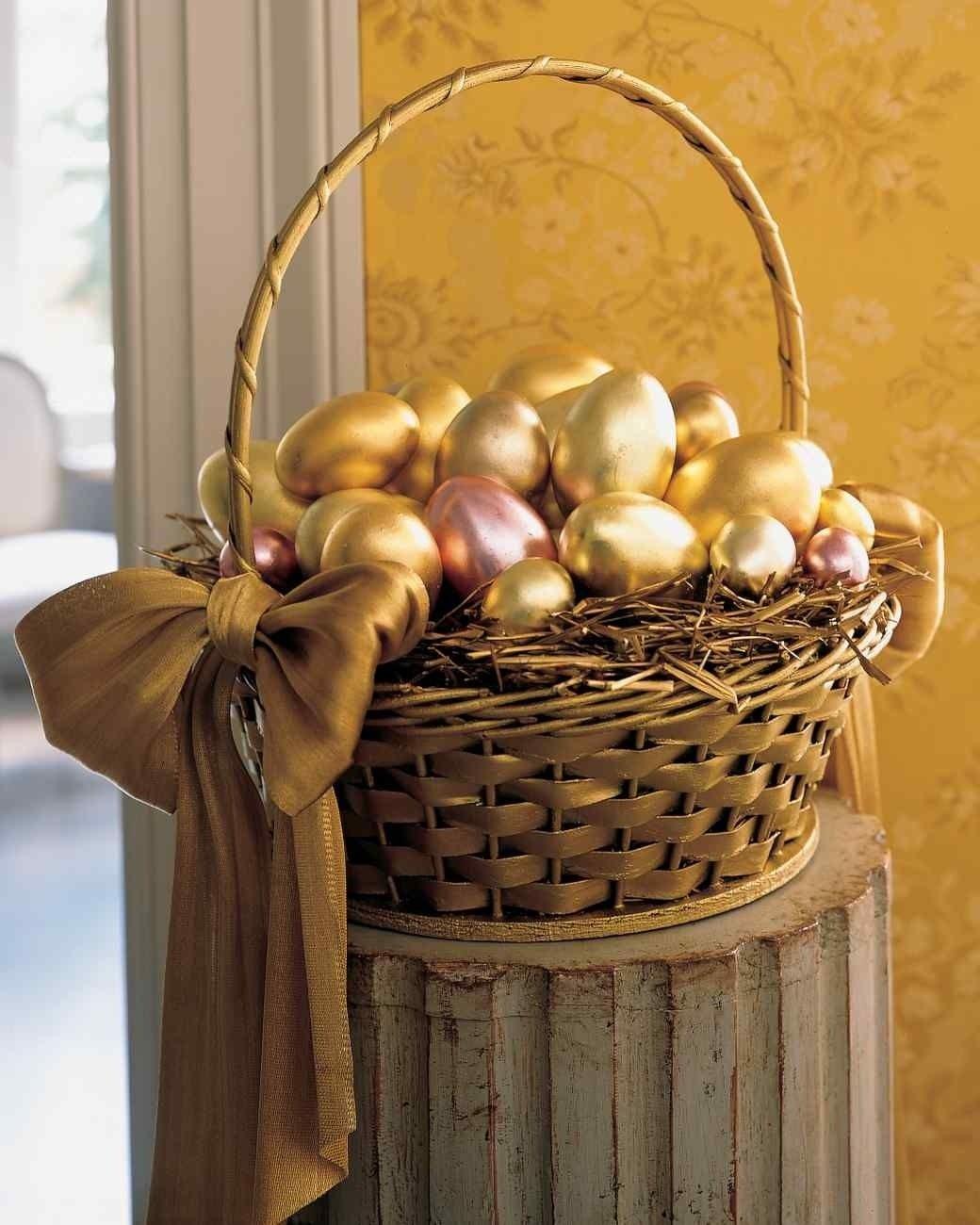 10 Stylish Martha Stewart Gift Basket Ideas 31 awesome easter basket ideas painted baskets sponge painting