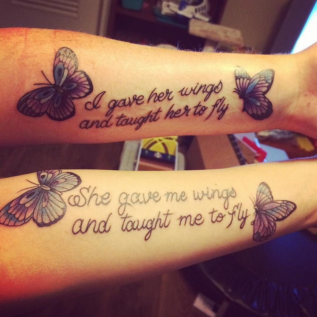 10 Lovable Mom And Daughter Tattoo Ideas