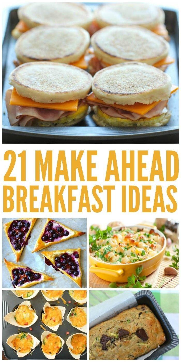 10 Fashionable Easy Breakfast Ideas For A Group 31 best breakfast brunch for group images on pinterest breakfast 2020