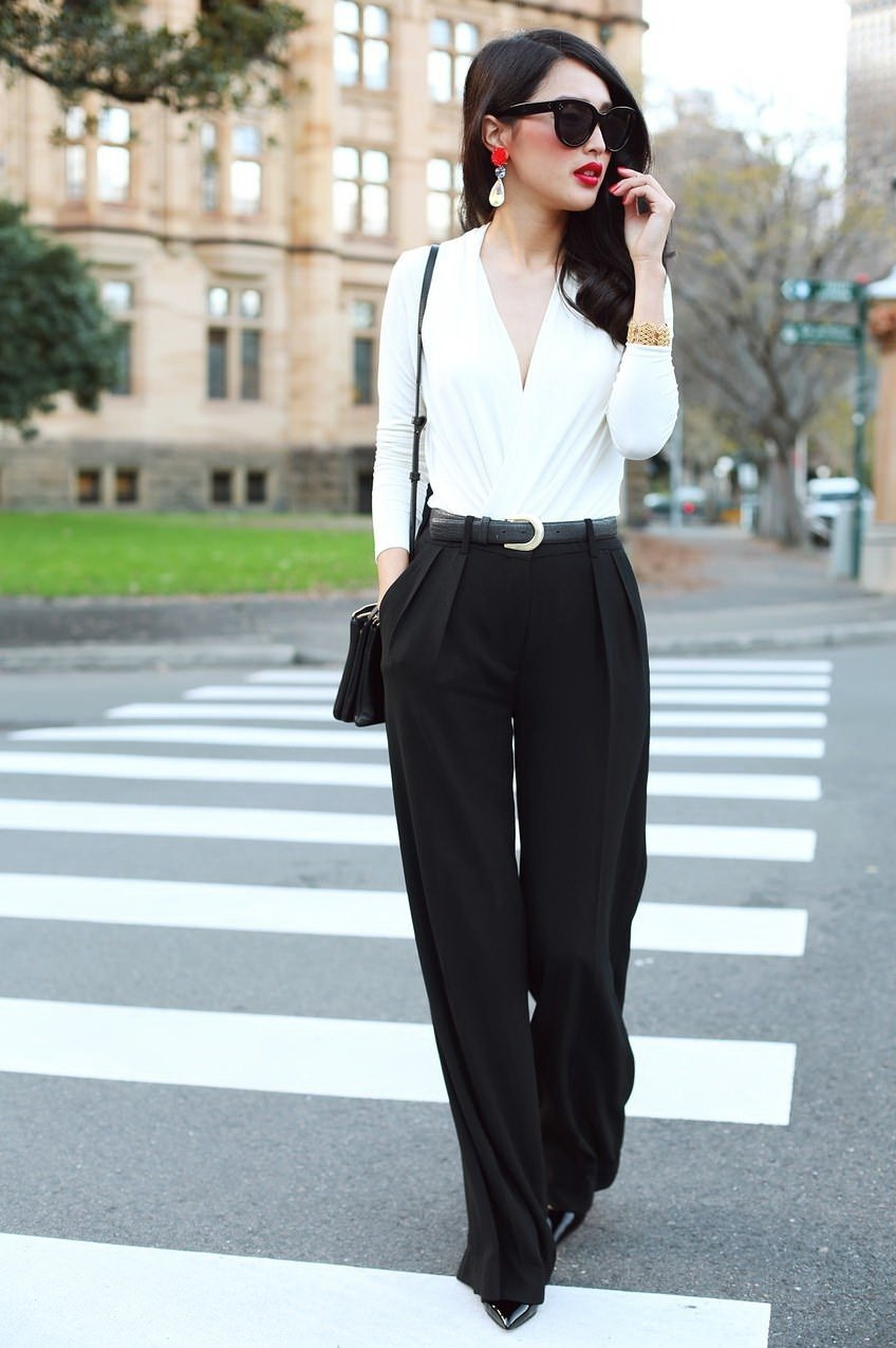10 Unique Black And White Outfit Ideas 31 black white work outfits for women 2018 fashiongum 2021