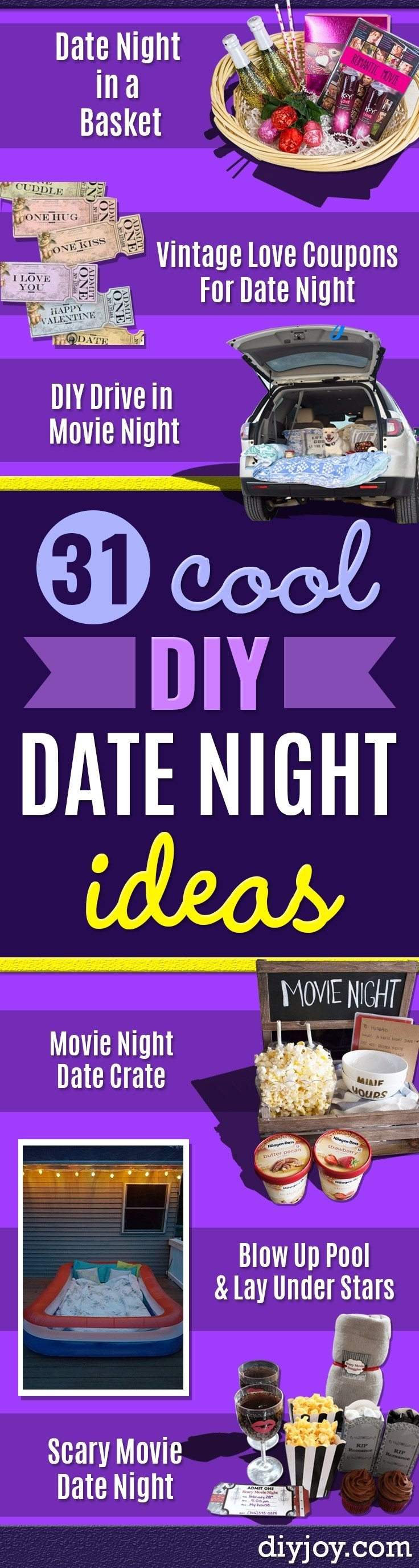 10 Fabulous Romantic Date Ideas For Your Girlfriend 31 brilliant date night ideas you can act like you thought of 2021