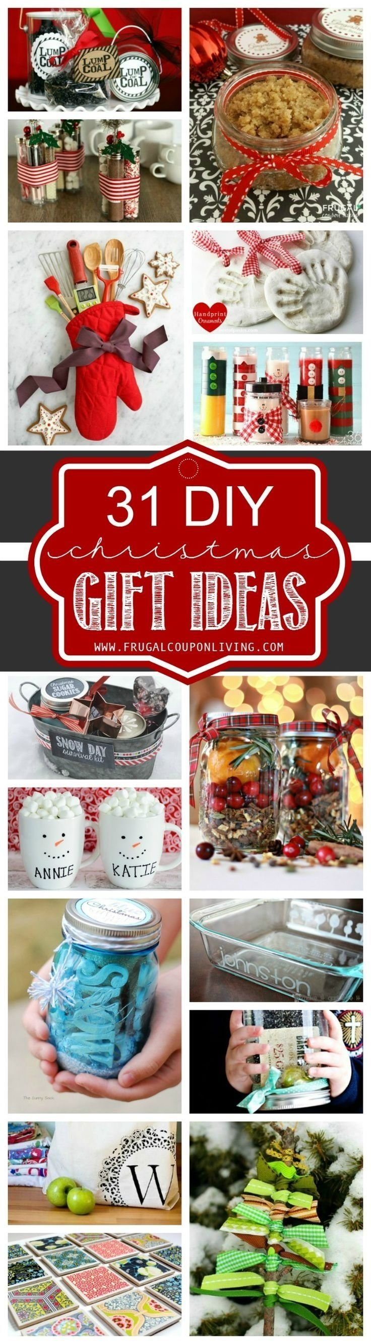 10 Great Homemade Christmas Gift Ideas For Coworkers 31 diy christmas gift ideas cadeau noel et idees cadeaux 2021