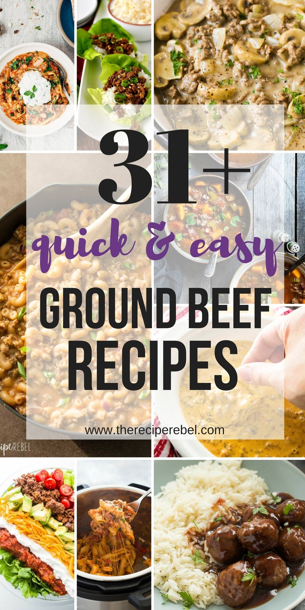 10 Stylish Quick Dinner Ideas With Ground Beef 31 quick ground beef recipes easy family friendly dinner ideas