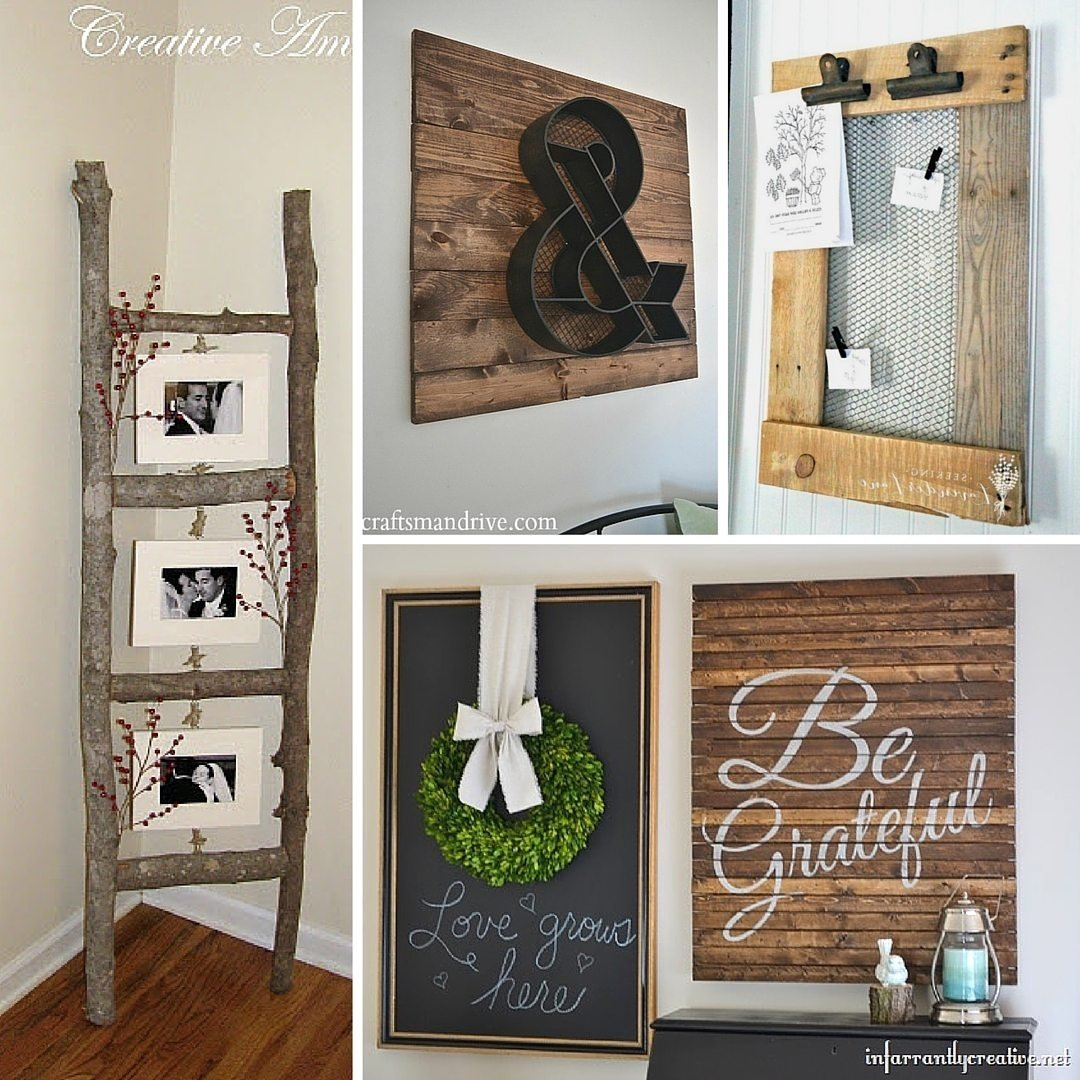 10 Famous Do It Yourself Home Ideas 31 rustic diy home decor projects refresh restyle 2 2021