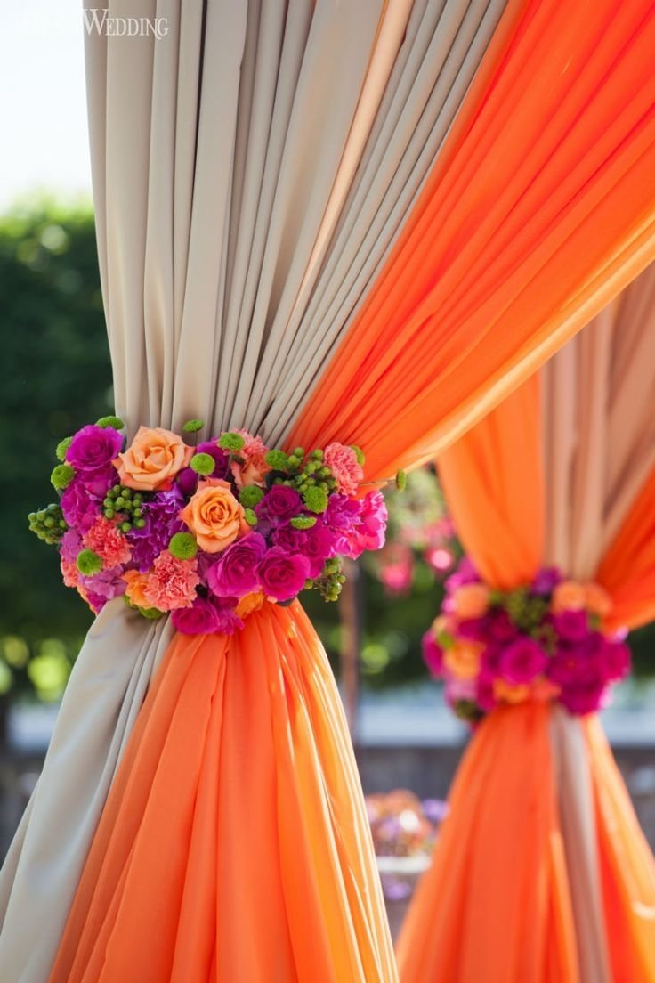 10 Attractive Pink And Orange Wedding Ideas 313 best wedding decor images on pinterest indian weddings