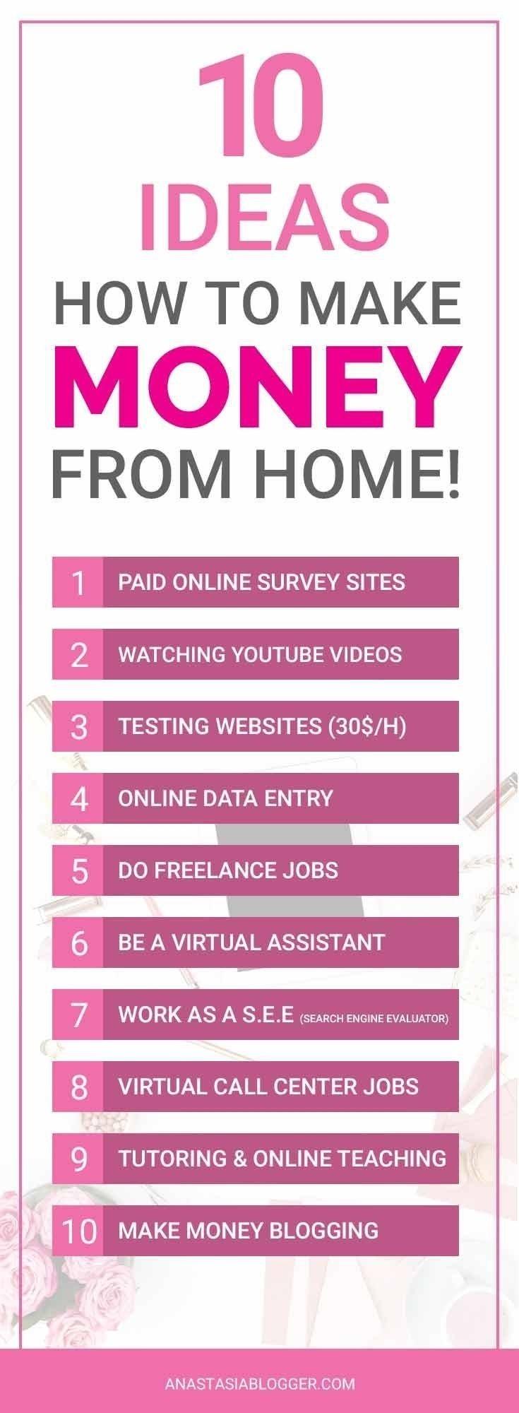 10 Beautiful Ideas How To Make Money 31662 best make money images on pinterest earn money online 1 2020