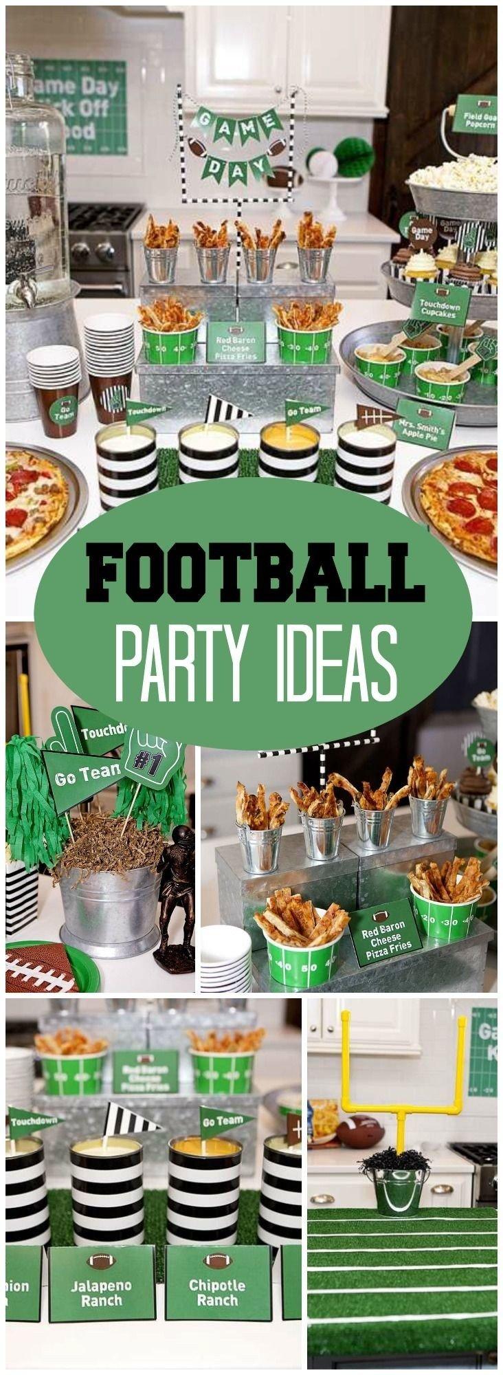 10 Gorgeous Super Bowl Party Ideas Pinterest 318 best football party ideas images on pinterest inspiration of 2020