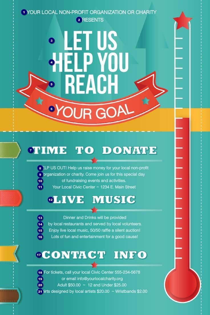 10 Nice Fundraising Event Ideas For Non Profit Organizations 32 best fundraising poster ideas images on pinterest fundraising 1