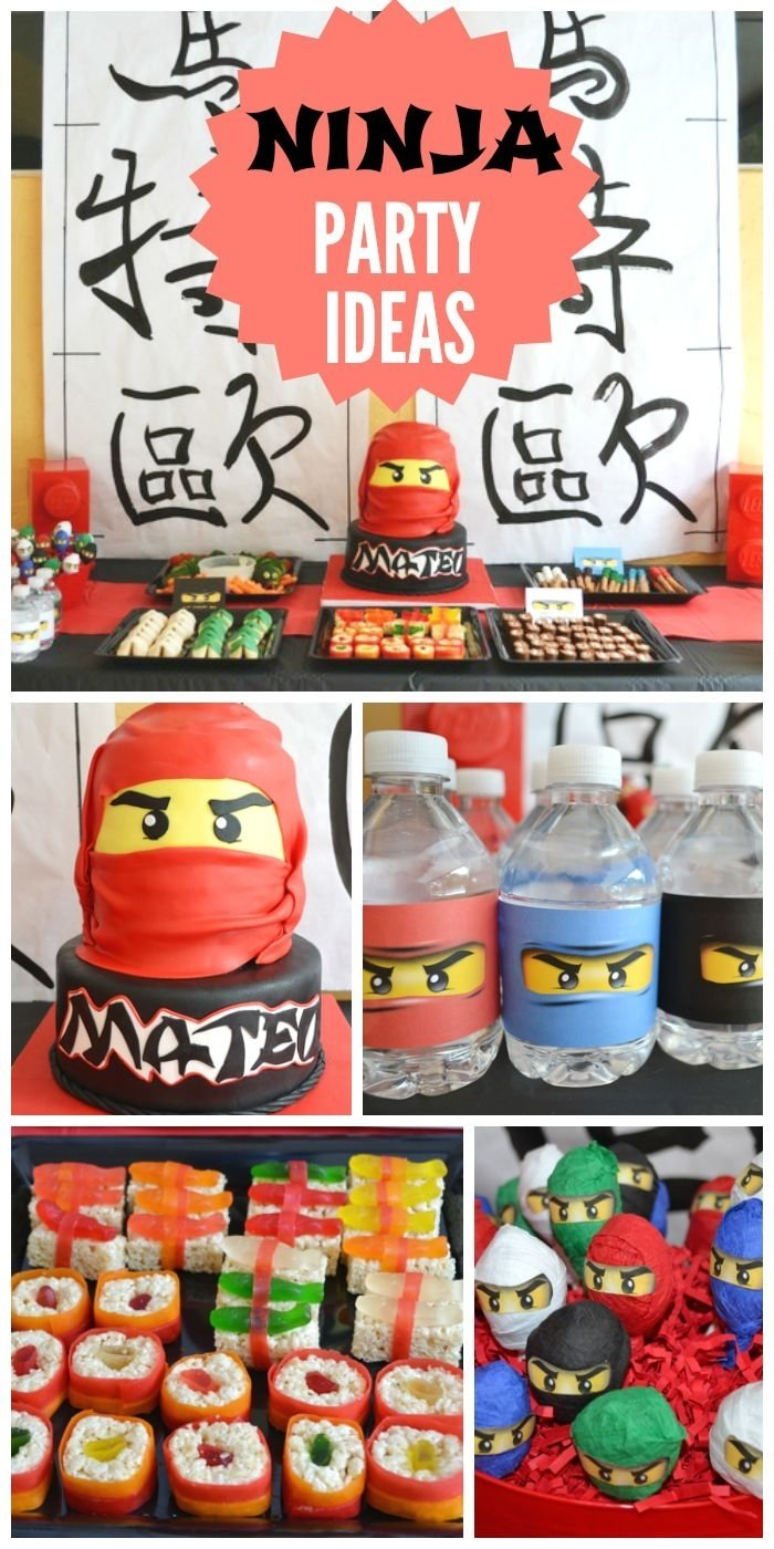 10 Amazing 5Th Birthday Party Ideas For Boys 32 best ninja party ideas images on pinterest karate birthday 2020