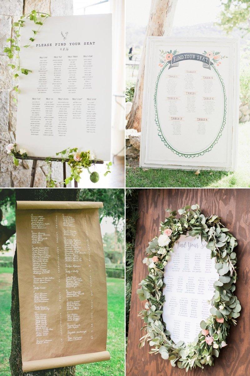 10 Wonderful Wedding Reception Seating Chart Ideas 32 creative reception seating chart ideas your guests will love 1 2020