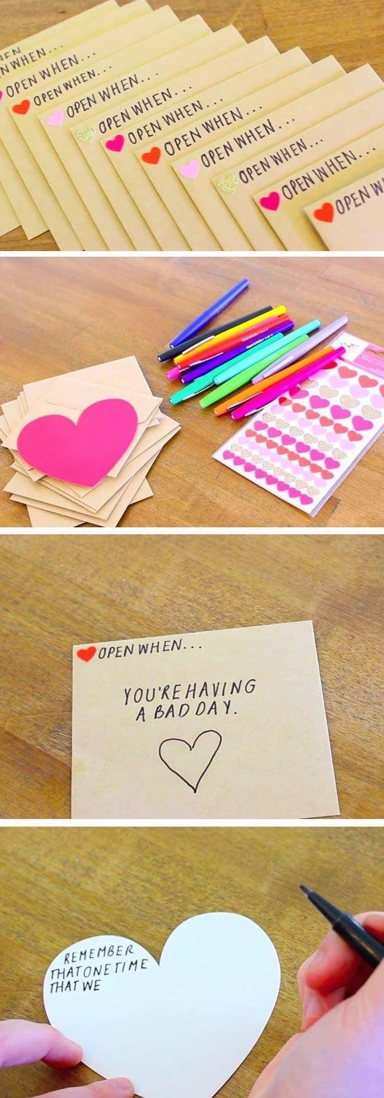 10 Fantastic Handmade Gift Ideas For Boyfriend 32 diy valentines crafts for boyfriend diy birthday valentine 4 2020