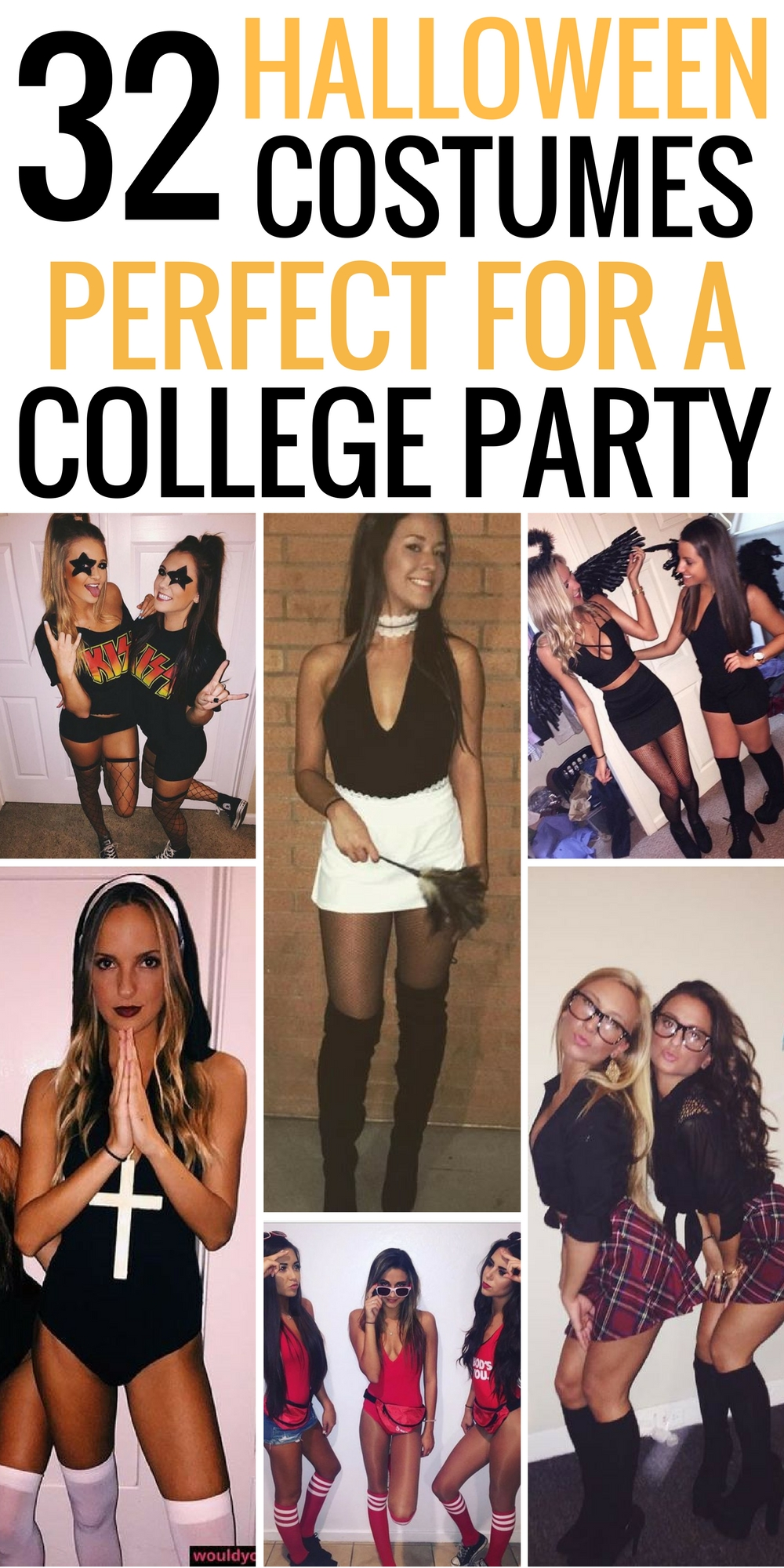 10 Pretty Halloween Costume Ideas For College 32 easy costumes to copy that are perfect for the college halloween 2021