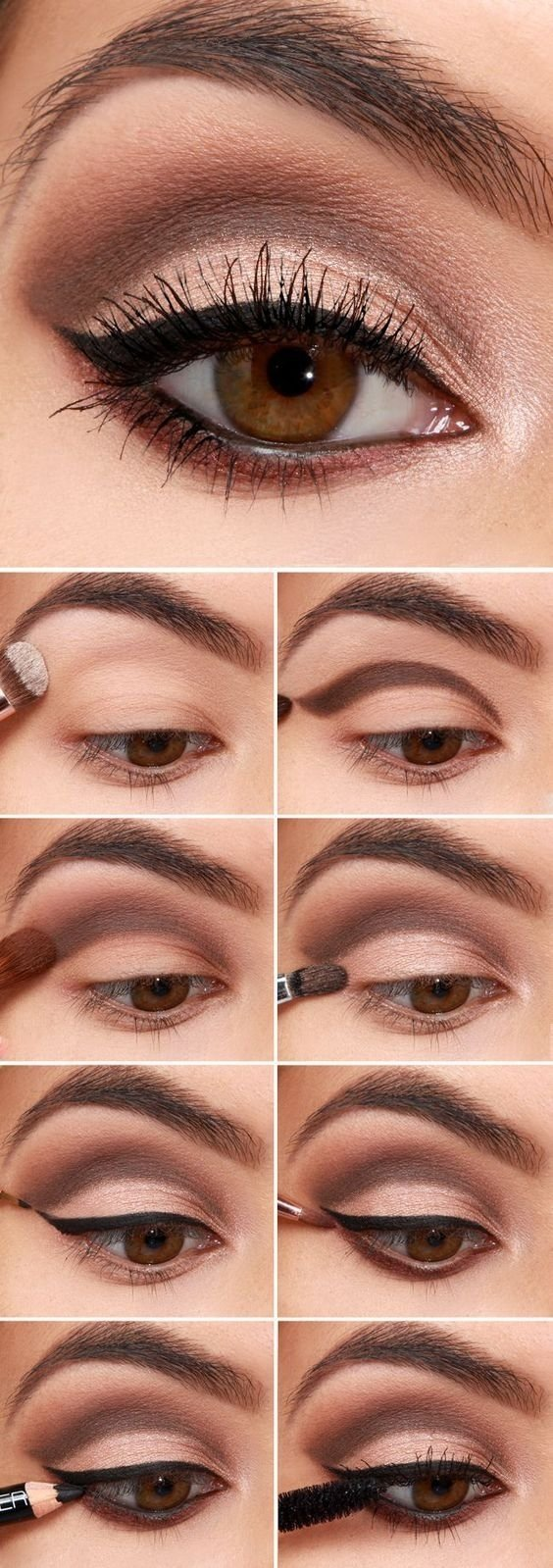 10 Awesome Cute Makeup Ideas For Brown Eyes 32 easy stepstep eyeshadow tutorials for beginners eyeshadow 1 2020
