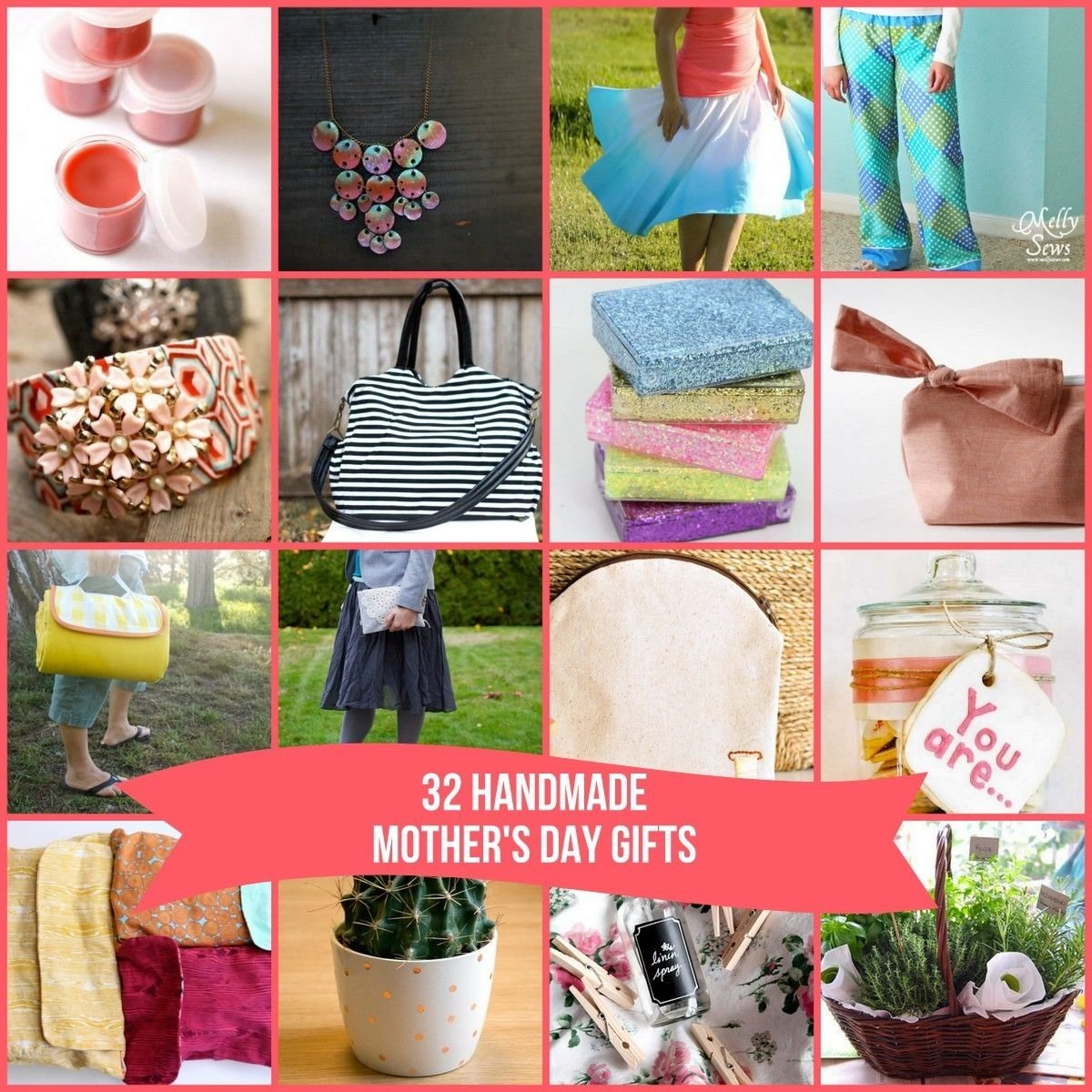 10 Most Recommended Good Gift Ideas For Mom 32 fabulous diy mothers day gift ideas includes no sew options 2 2021