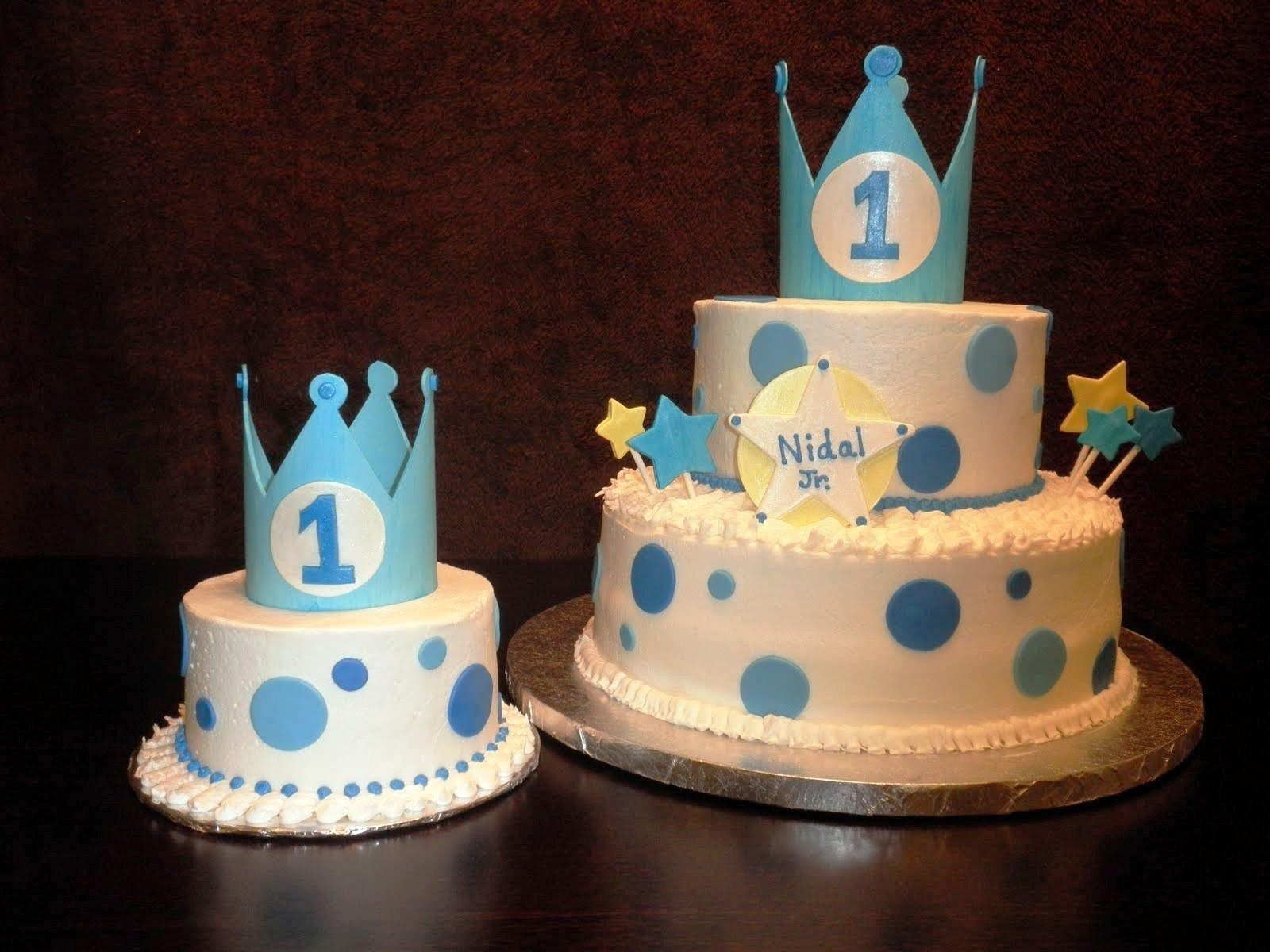 Imgenes De Ideas For 1st Birthday Cake For Boy