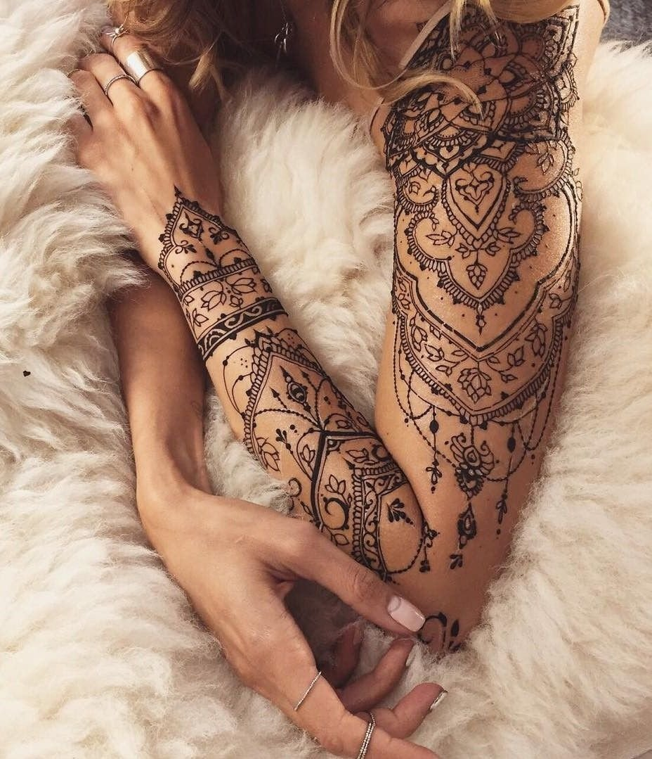 10 Beautiful Sleeve Tattoo Ideas For Females 32 sleeve tattoos ideas for women tattoo check and hennas 1 2021