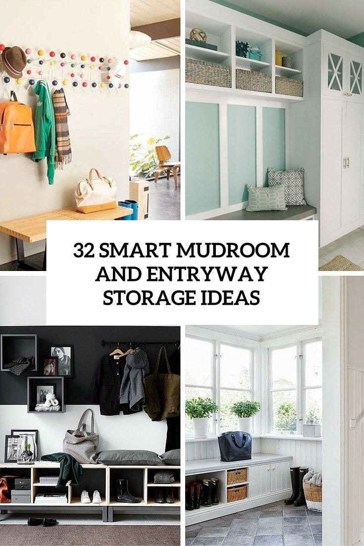 10 Most Popular Entryway Ideas For Small Spaces 32 small mudroom and entryway storage ideas shelterness 1 2020
