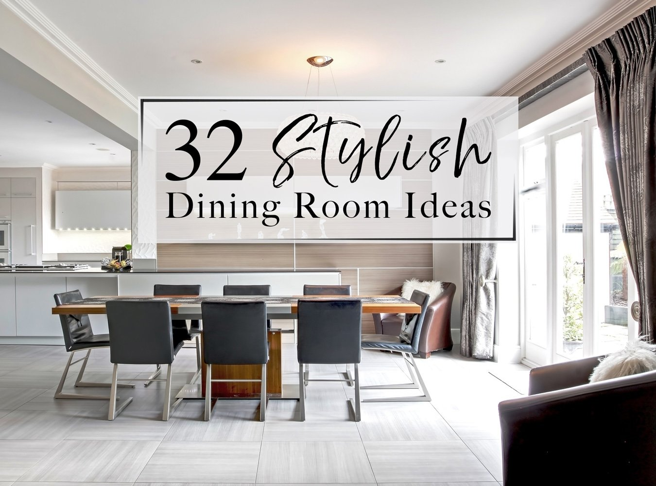 10 Fashionable Dining Room Decor Ideas Pictures 32 stylish dining room ideas to impress your dinner guests the luxpad
