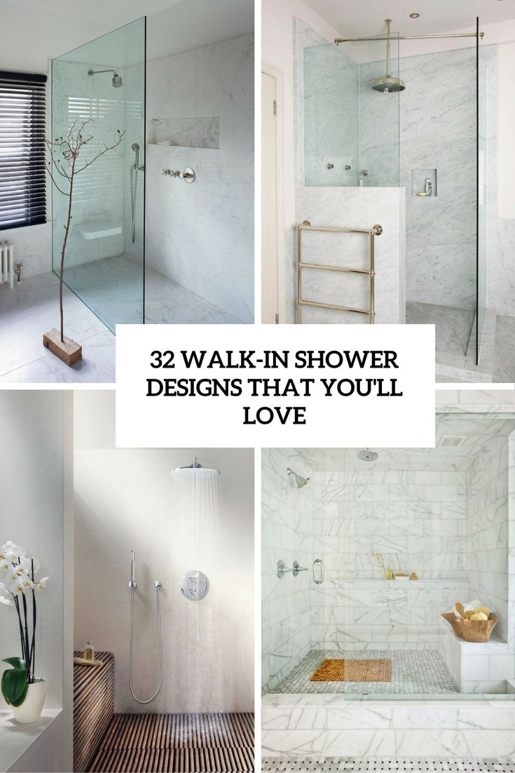 10 Attractive Walk In Shower Remodel Ideas 32 walk in shower designs that you will love digsdigs 2 2020