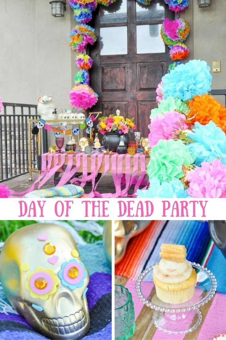 10 Fabulous Day Of The Dead Party Ideas 33 best day of the dead party images on pinterest craft party day 1 2021