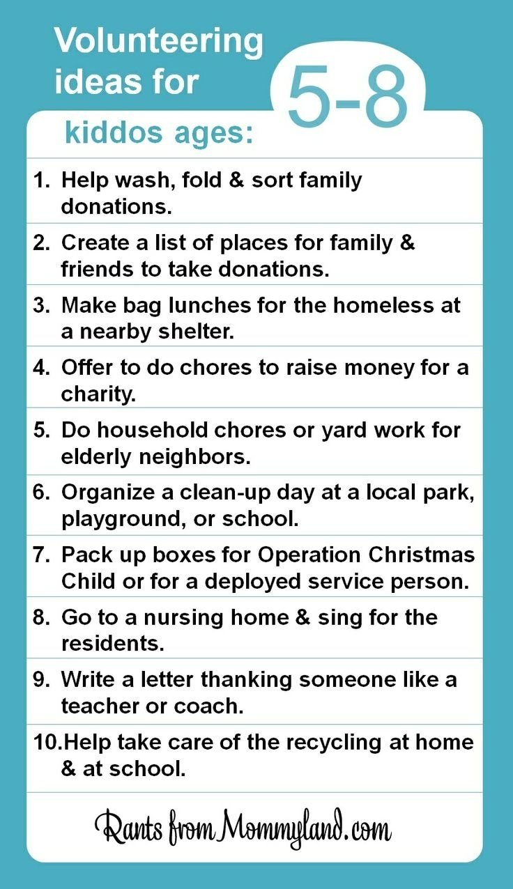 10 Trendy Service Project Ideas For Kids 33 best volunteers in action images on pinterest volunteers 1 2020