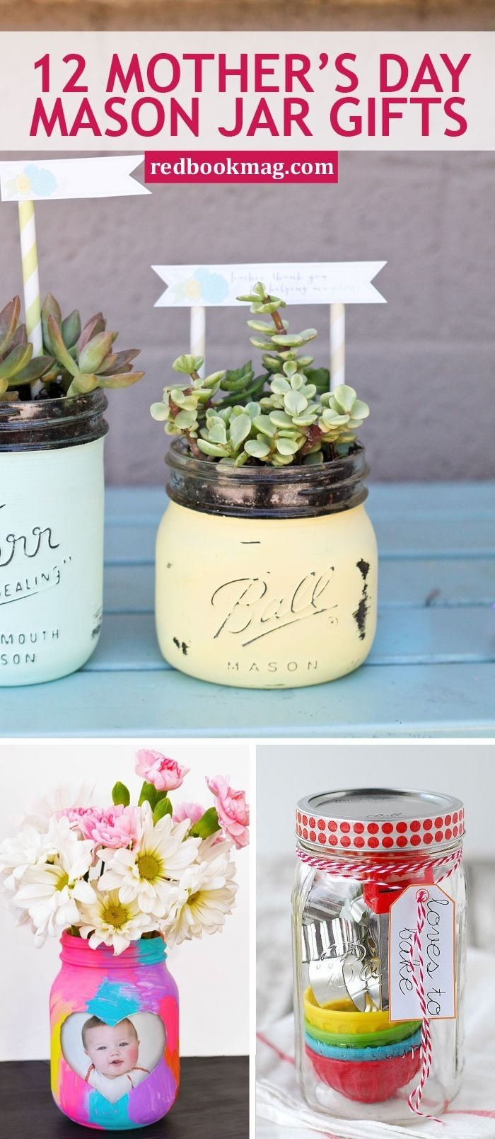 10 Trendy Homemade Mothers Day Gift Ideas 33 cute mothers day ideas that all come in mason jars homemade 1