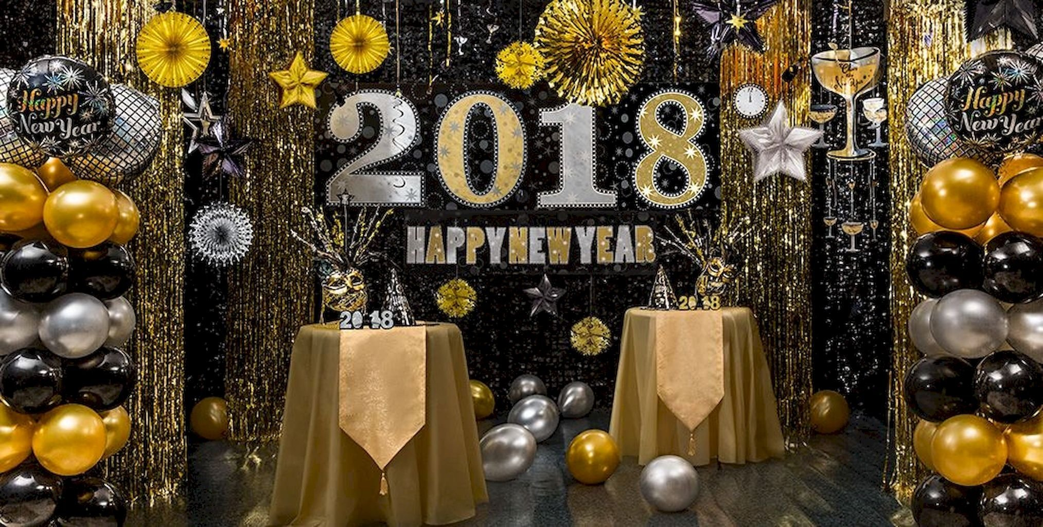 33 easy diy 2018 new years eve party decor ideas livingmarch