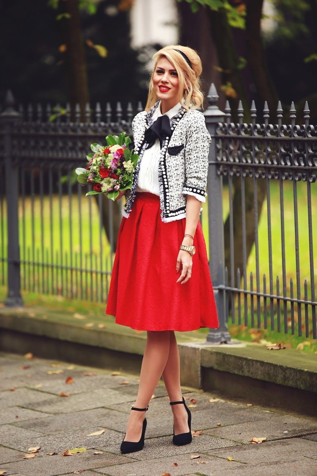 10 Perfect Red Pencil Skirt Outfit Ideas 33 most elegant office skirt outfits to inspire you this year 2020