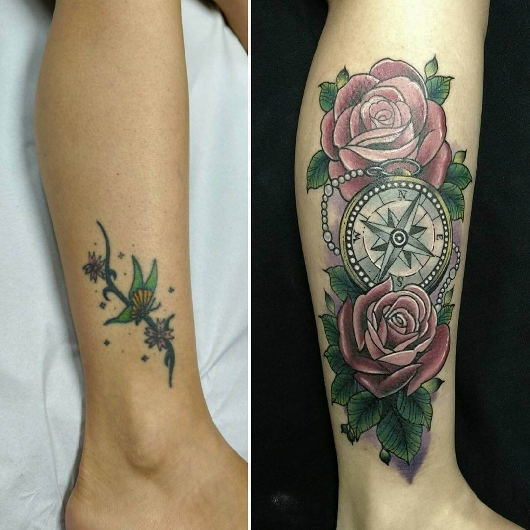 10 Great Ankle Tattoo Cover Up Ideas 33 tattoo cover ups designs that are way better than the original 12