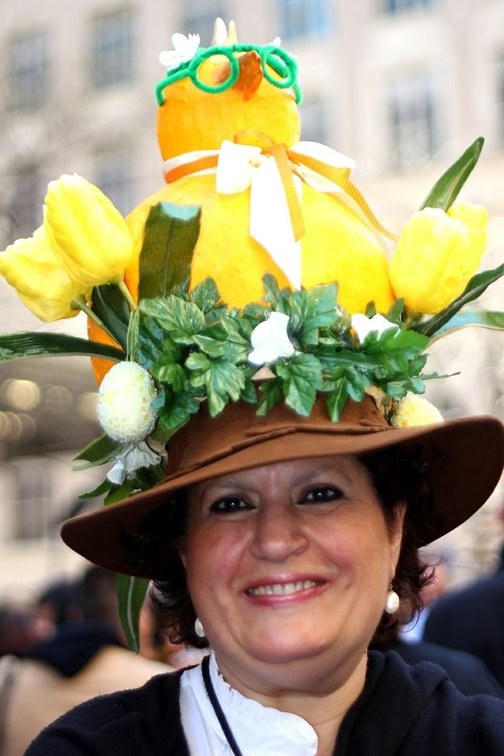 10 Stylish Crazy Hat Ideas For Adults 337 best easter bonnet ideas images on pinterest easter bonnets 2020