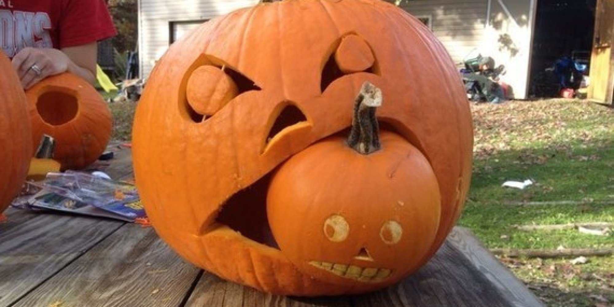 34 epic jack-o'-lantern ideas to try out this halloween | huffpost