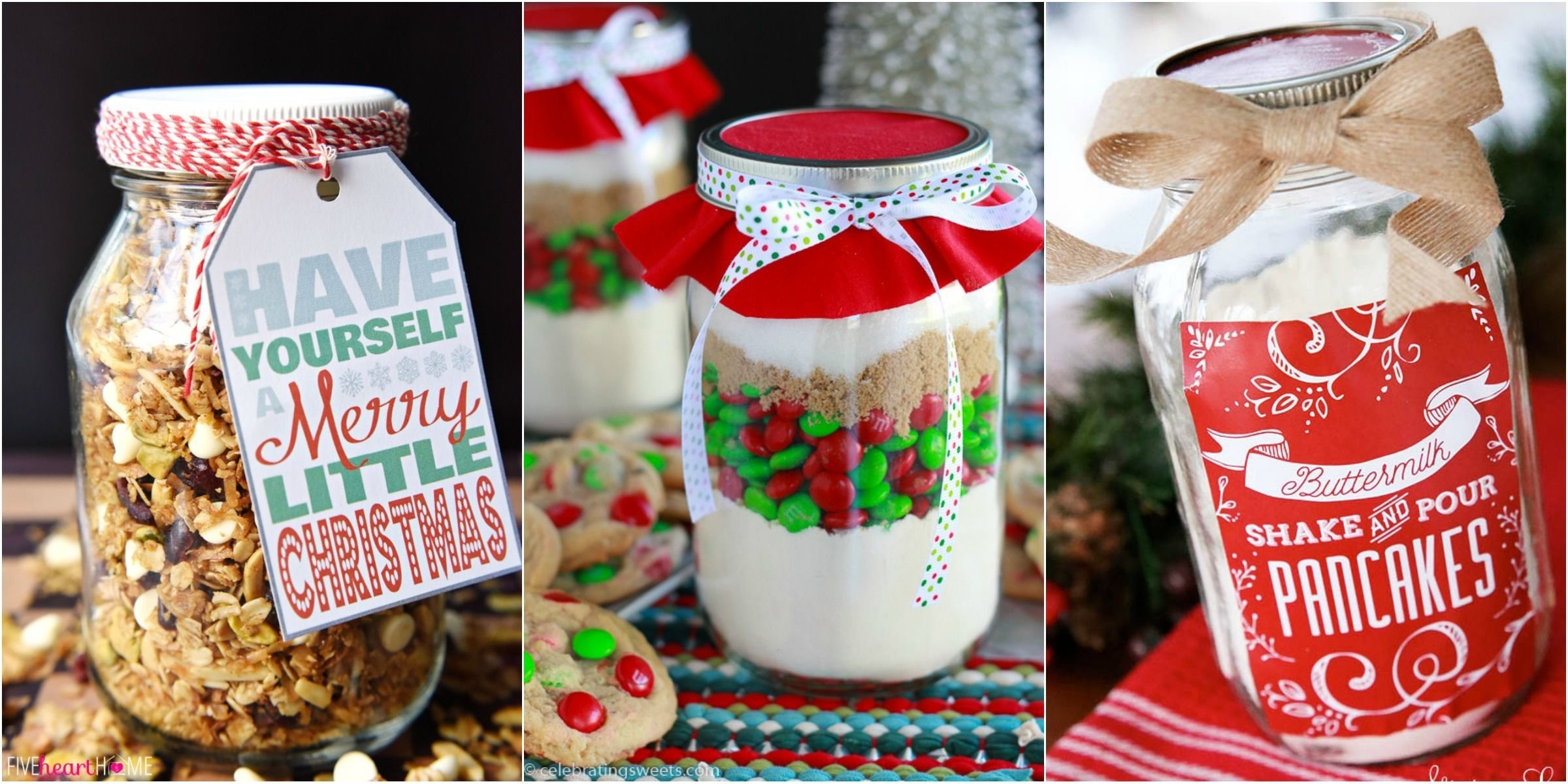 10 Cute Mason Jar Christmas Gift Ideas 34 mason jar christmas food gifts recipes for gifts in a mason jar