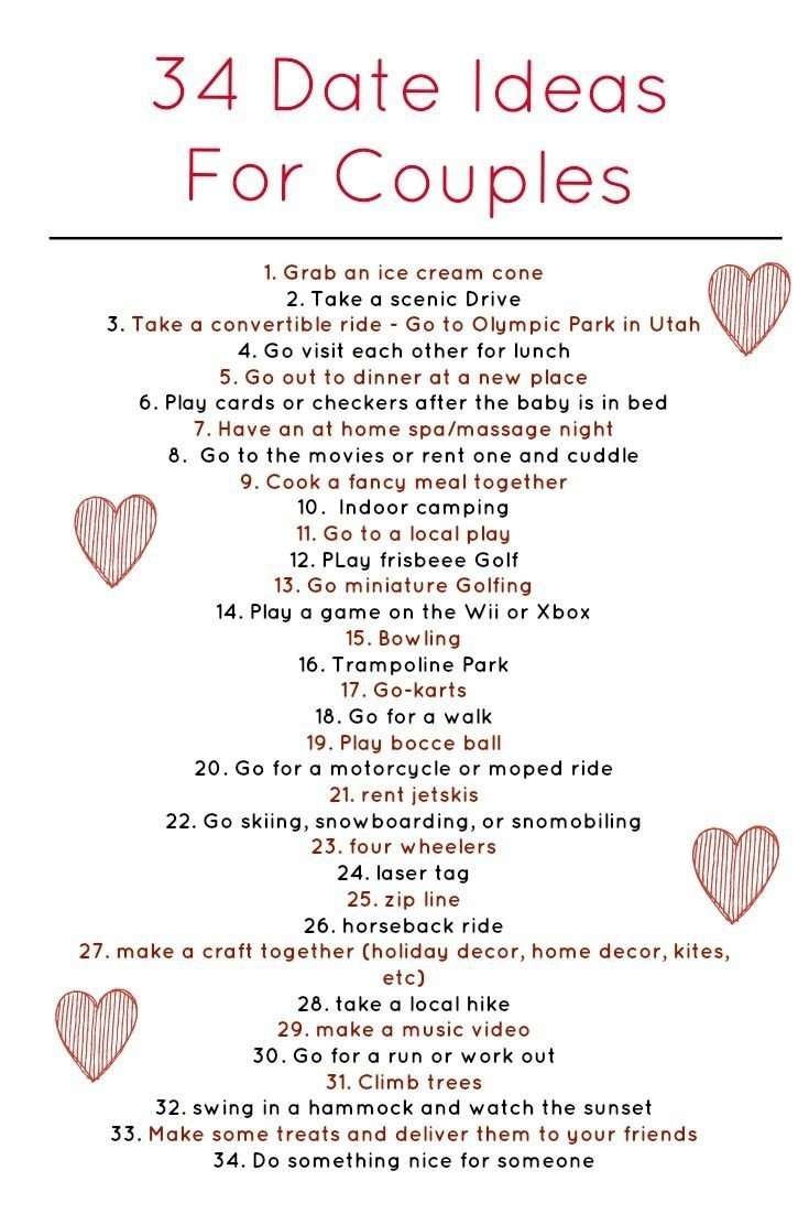 10 Cute Cheap Date Ideas For Married Couples 34 weekly date ideas for couples coming from a happily married 10